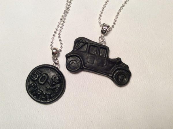 Kaulakorut merkkari ja auto
